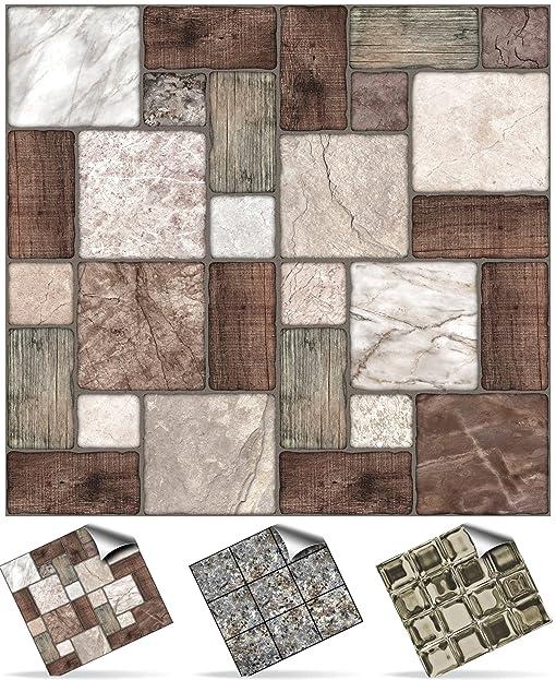 30 Stück Fliesenaufkleber Für Küche Und Bad (Tile Style Decals 30xNTP 0   6u0026quot;