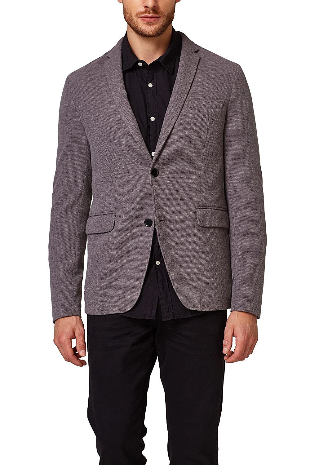 ESPRIT Collection Chaqueta de Traje para Hombre