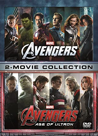Marvels The Avengers 2 Movie Collection