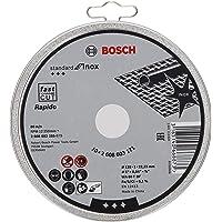 Bosch Professional 10 doorslijpschijven Standard for Inox Rapido WA 60 T BF, voor roestvrij staal, Ø 125 mm, recht…