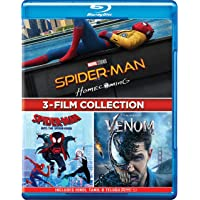 3-Movies Collection: Spider-Man: Homecoming + Spider-Man: Into the Spider-Verse + Venom (3-Disc)