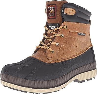 Describir Búsqueda Marte  Amazon.com | Skechers for Work Women's Duck Rain Boot | Rain Footwear