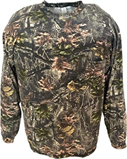product image for Clarkfield Outdoors Big & Tall Camo Long Sleeve Hunting T-Shirt