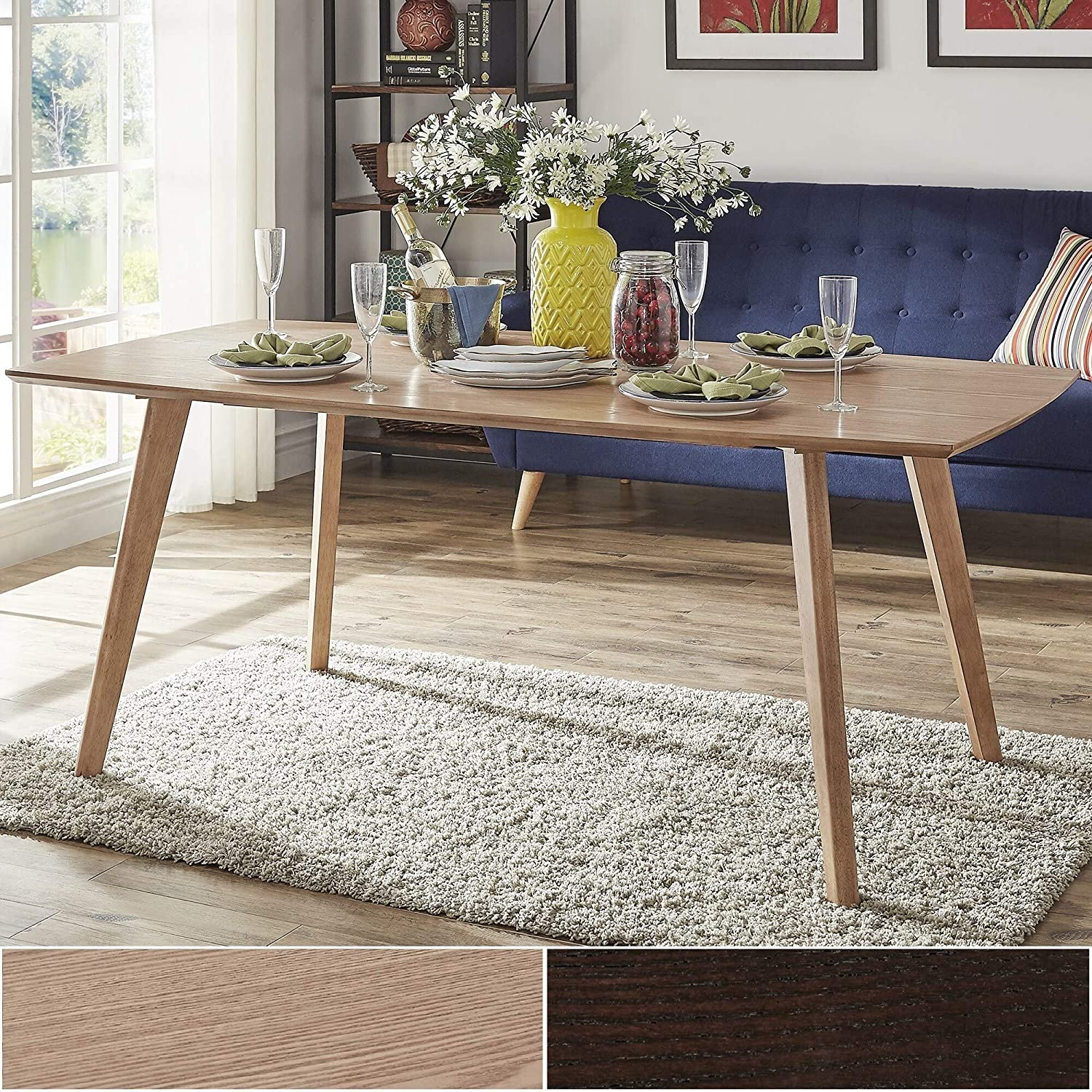 Amazon.com - Inspire Q Abelone Scandinavian Dining Table by ...