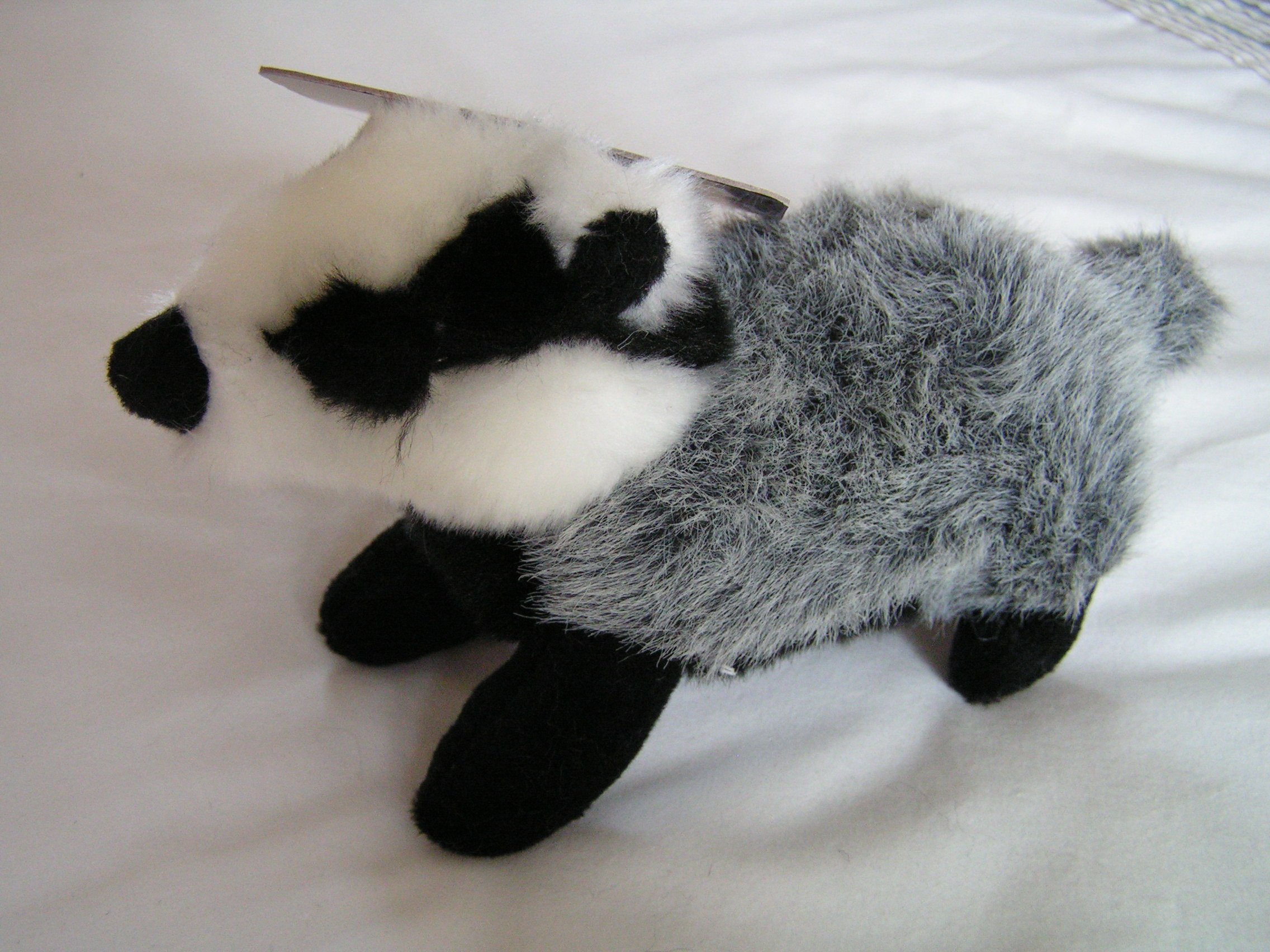 Animal Instincts BABY BARRY BADGER PLUSH SQUEAKY DOG TOY
