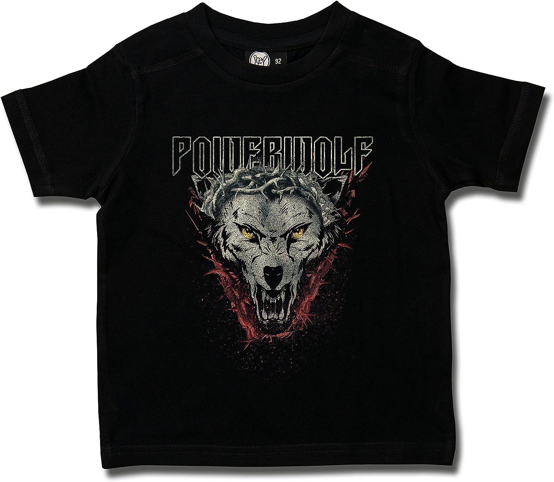 Maglietta per Bambini e Neonati Icon Wolf Metal-Kids Powerwolf