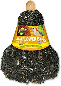 Audubon Park 13341 Black Oil Sunflower Wild Bird Food Bell, Ready to Use, 11-Ounces
