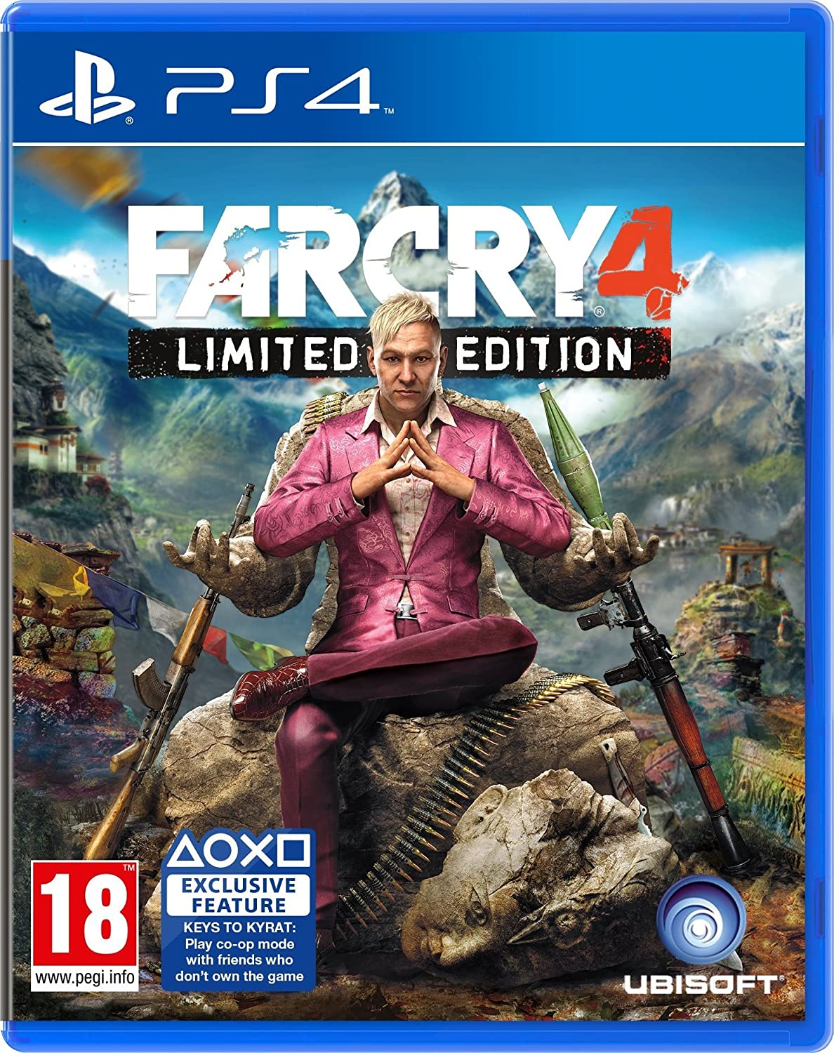 Amazon Com Far Cry 4 Limited Edition Ps4 Video Games