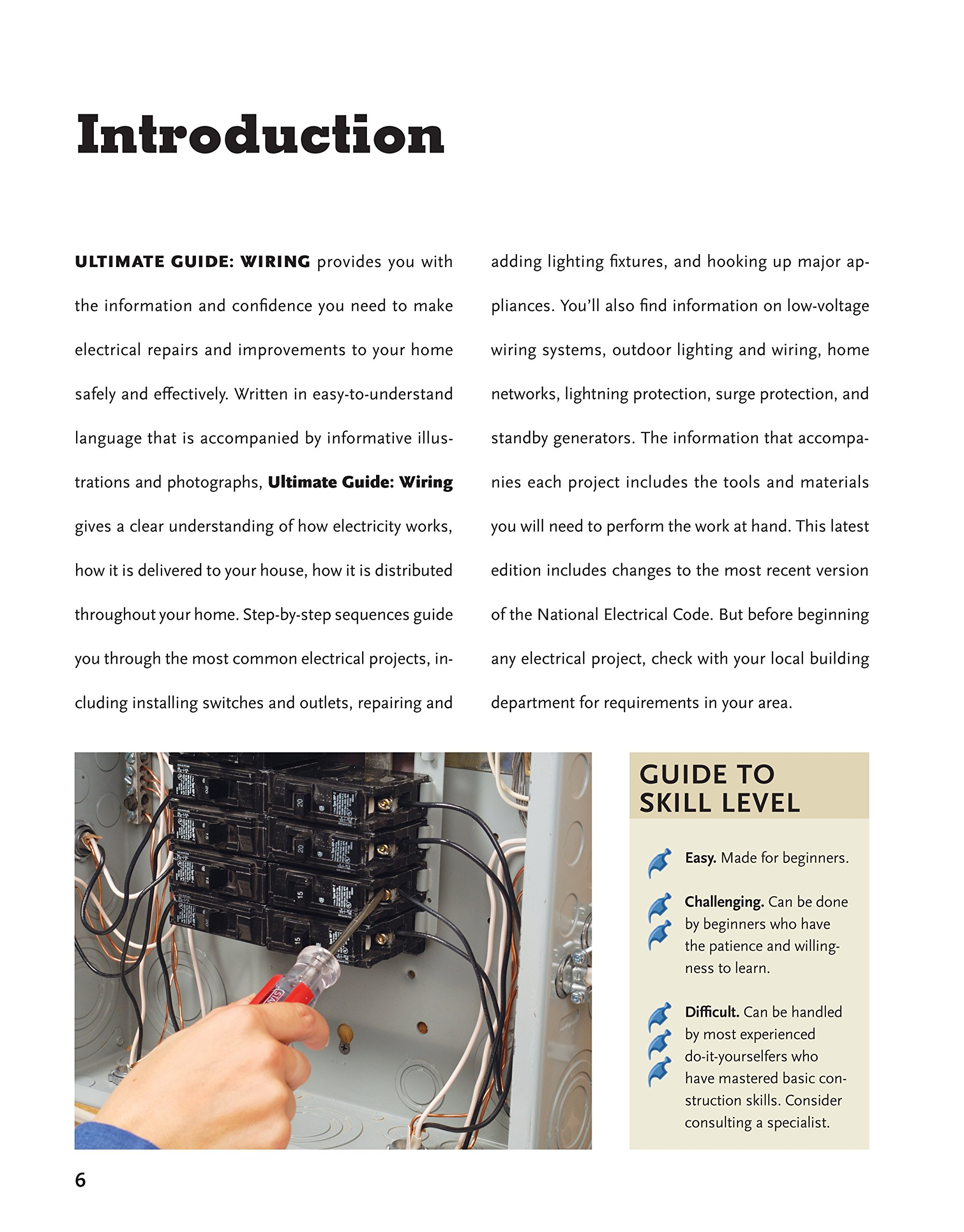 Ultimate Guide Wiring 8th Updated Edition Creative Homeowner Diy Building Installation Tutorial Pdf Home Electrical Installations Repairs From New Switches To Indoor Outdoor Lighting