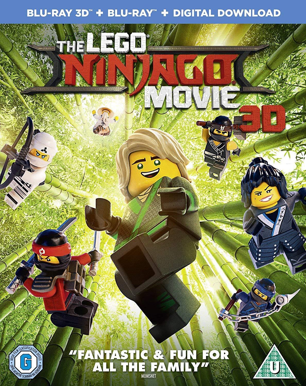 The Lego Ninjago Movie Edizione: Regno Unito Reino Unido Blu ...