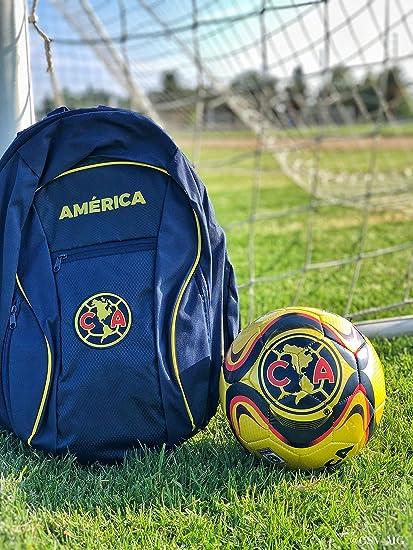 Amazon.com: Club America Mochila + Americana Balón de fútbol ...