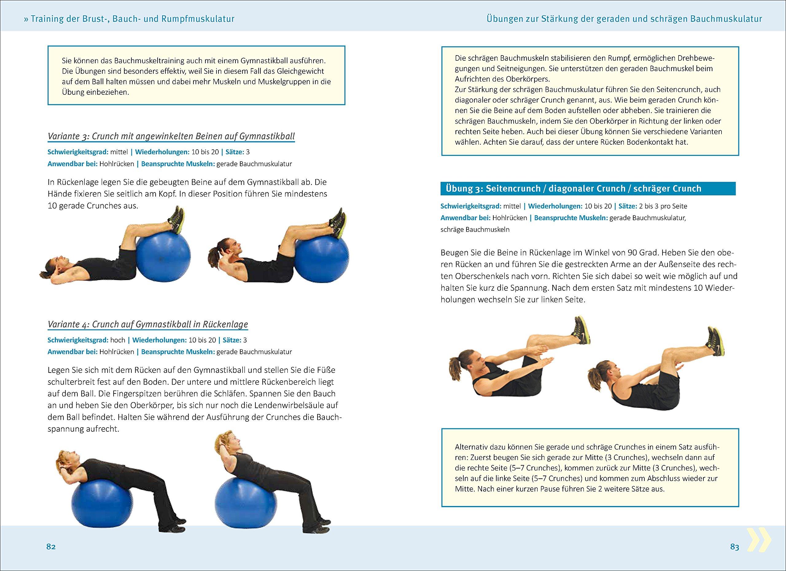 Rückenfit & Kreuzfidel: Das Training für Rücken und aufrechte ...