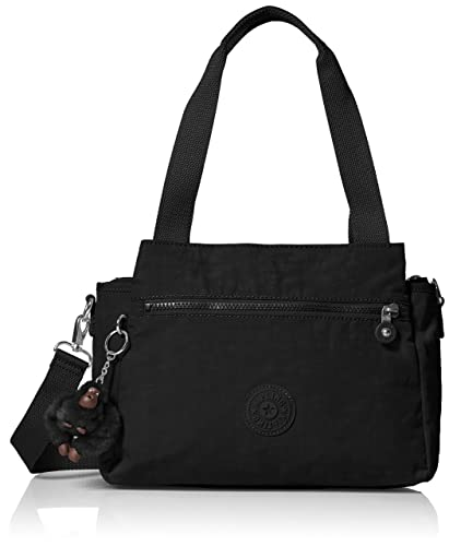 0d7936f015 Kipling Elysia Black Tonal Handbag, Black t: Amazon.co.uk: Shoes & Bags