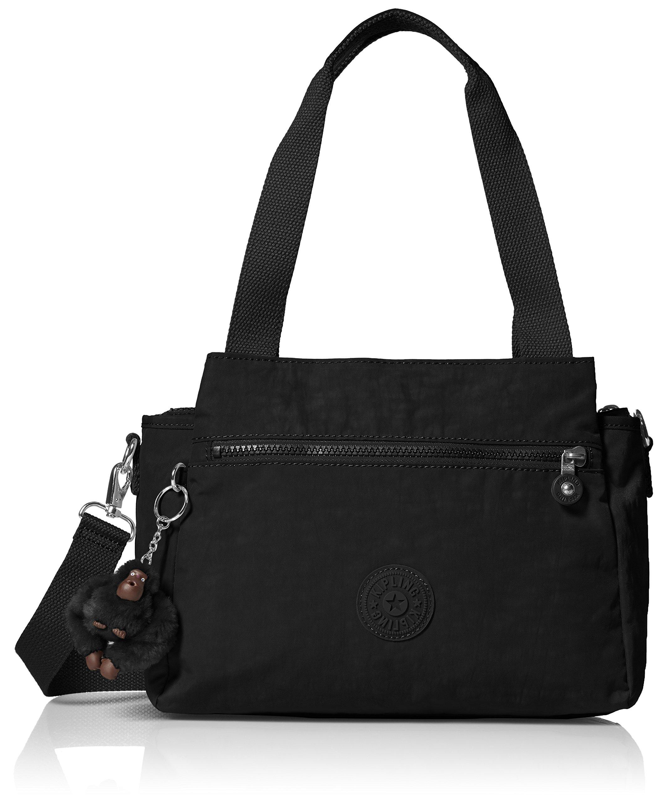 Kipling Elysia Black Tonal Handbag t