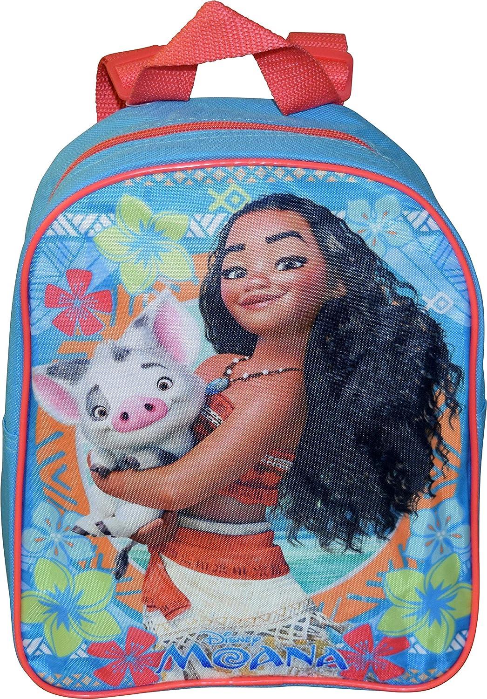 "Disney Princess Moana Medium 14/"" Backpack Adjustable For Girls"