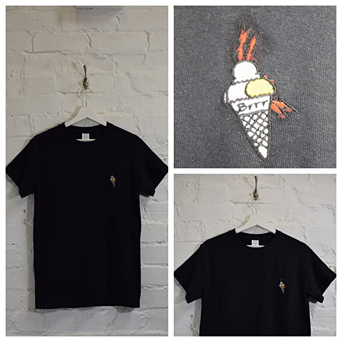 f80d1599 Actual Fact Gucci Mane Hip Hop Trap House Embroidered Black Hip Hop Tee T- Shirt (Small-XXL): Amazon.co.uk: Clothing