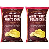 Trader Joe's Organic White Truffle Potato Chips 6oz(Pack of 2)