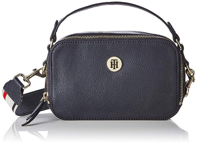 Tommy Hilfiger Mini Trunk Donna Cross Body Bag Silver  Amazon.it  Scarpe e  borse b434c5204b0