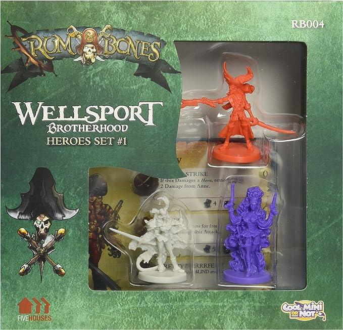 Edge Entertainment- Rum & Bones: wellsport Brotherhood Hero Set 1, Color (EDGRAB04)