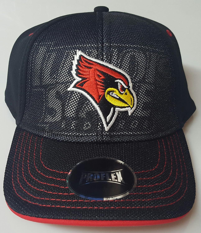 B07D24DXYL NCAA新しいイリノイ州立RedbirdsフレックスフィットキャップM/L