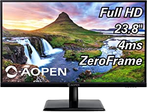 AOPEN 24CH2Y bix 23.8-inch Full HD (1920 x 1080) IPS Monitor 75Hz, 4ms (1 x HDMI & VGA Port)