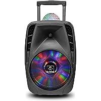 Big Ben Wireless (Groove216) Party Machine Trolley Con Disco Ball Attiva 100W