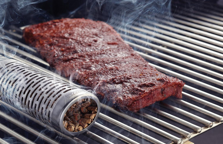 "A-MAZE-N 12/"" Wood Pellet Tube Smoker BBQ GRILL COLD SMOKE Amazing Amazen AMNTS12"