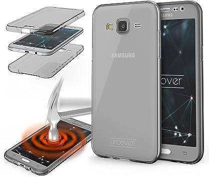 Urcover® Samsung Galaxy J7 2015 | Funda Carcasa Protectora 360 ...