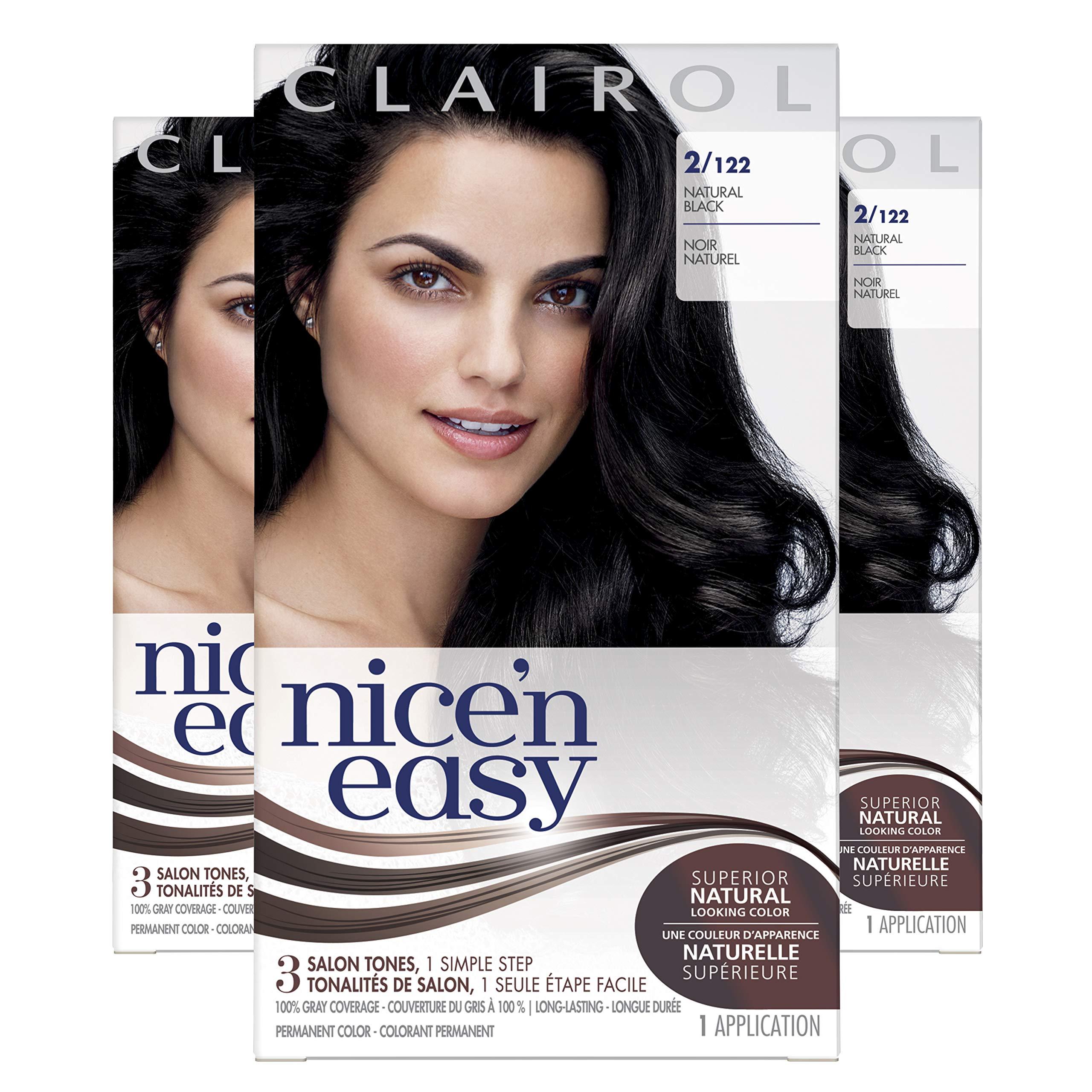 Clairol Nice'N Easy  Original  2 Black (Pack of 3) by Clairol