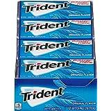 Trident Sugar Free Gum, Original Flavor, 18 Count (Pack of 12)