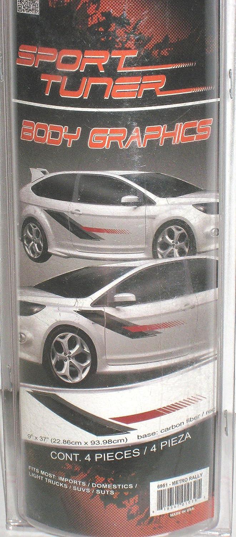 Custom Vinyl Auto Graphic Decal Metro Rally 6951 Illusion Graphics