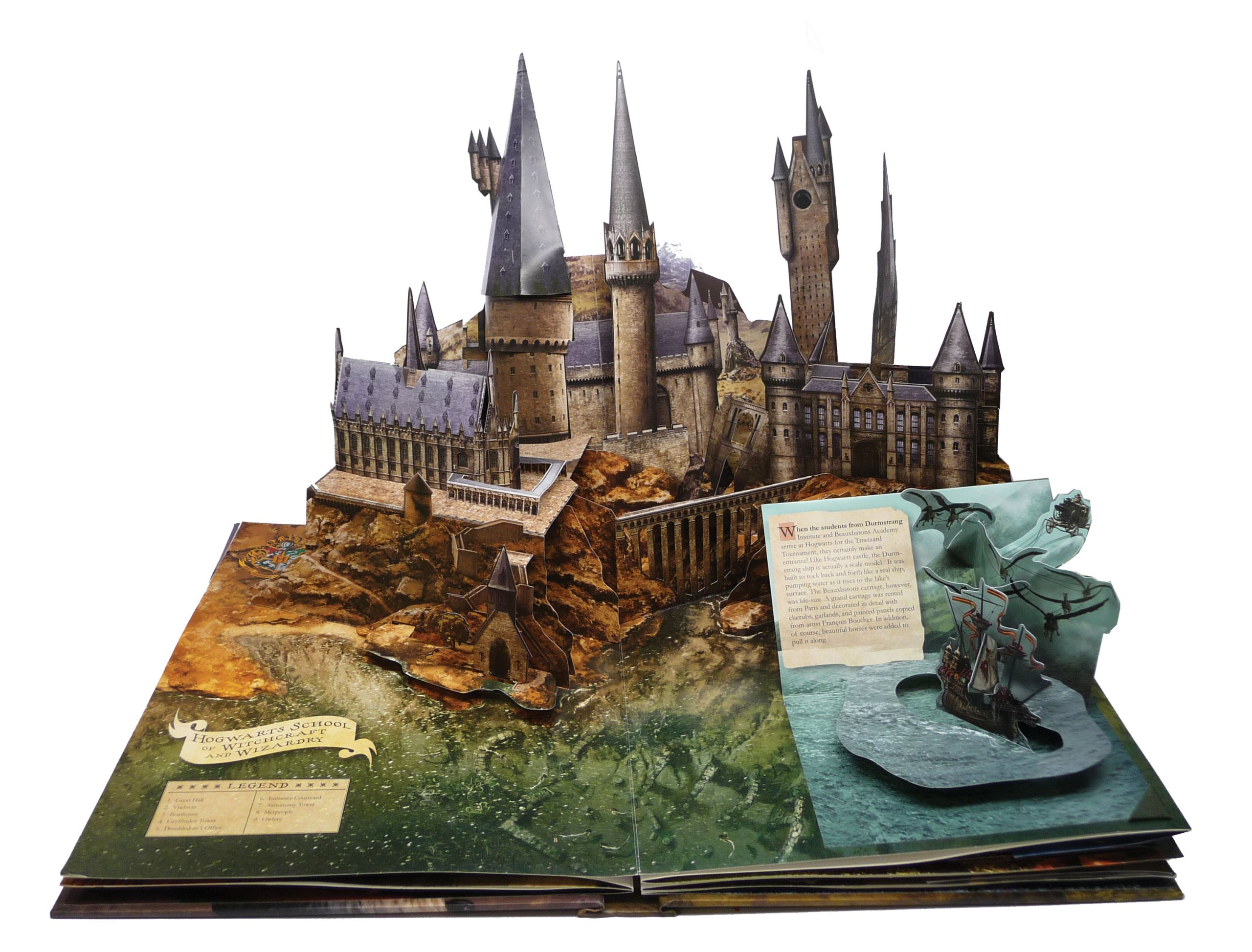 Image result for harry potter pop up book