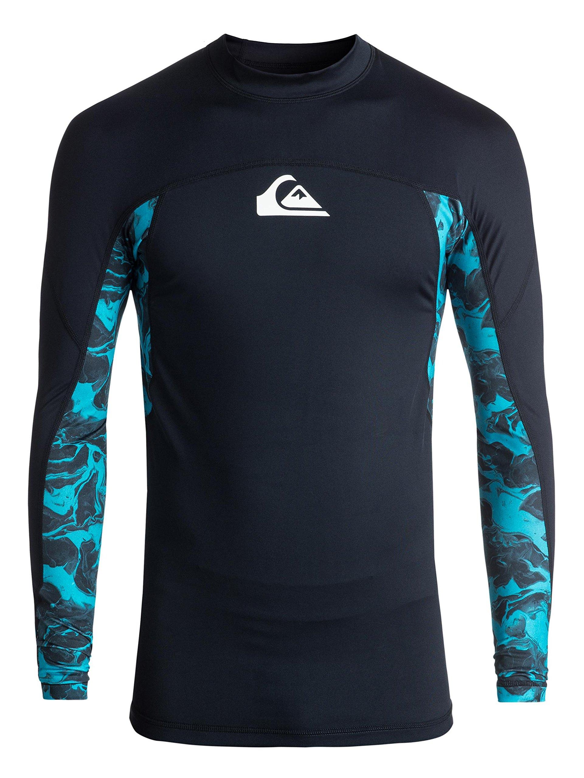 Quiksilver Men's Slash Long Sleeve, Navy Blazer, S