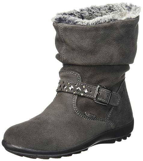 Primigi Glossy, Botines para Niñas, Gris (Grig.Scuro), 34 EU: Amazon.es: Zapatos y complementos