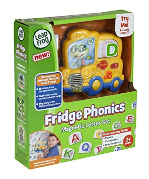 Amazon.com: LeapFrog Fridge Phonics Magnetic Letter Set: Toys & Games