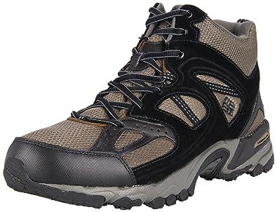 Columbia Men's WallaWalla 2 Mid Omni-Tech Hiking Boot,Dark Olive/Black,