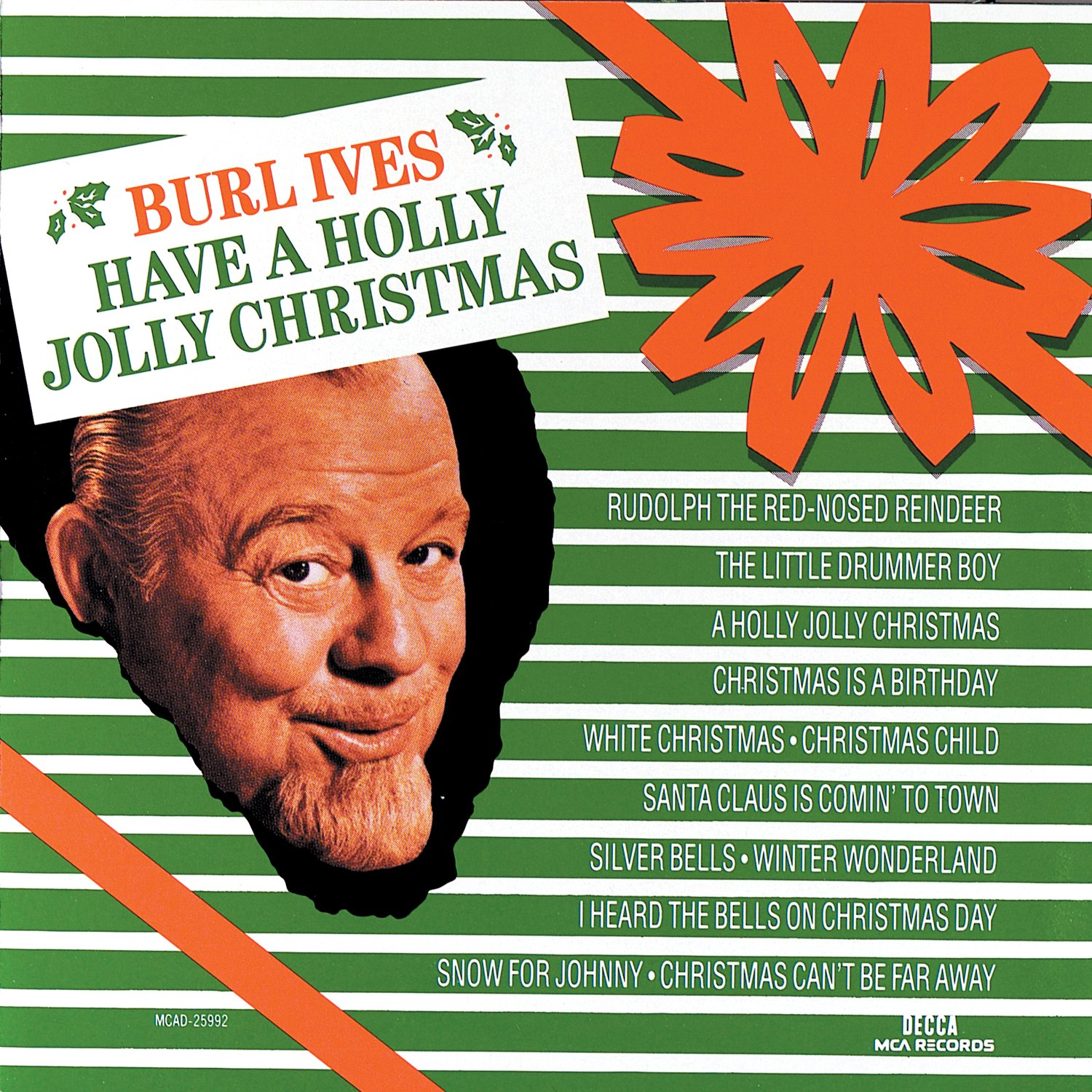 burl ives have a holly jolly christmas amazoncom music - Have A Holly Jolly Christmas