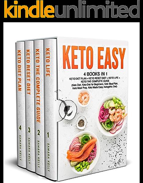 Keto Easy 4 Books In 1 Keto Diet Plan Keto Reset Diet Keto Life Keto The Complete Guide Keto Diet Keto Diet For Beginners Keto Meal Plan Keto Meal