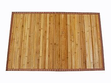 AVANTI TRENDSTORE - Tappeto in Bamboo color legno. ca. 160 x 230 ...