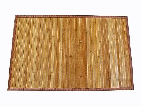 Pavimento In Bambù Opinioni : Avanti trendstore tappeto in bamboo color legno ca