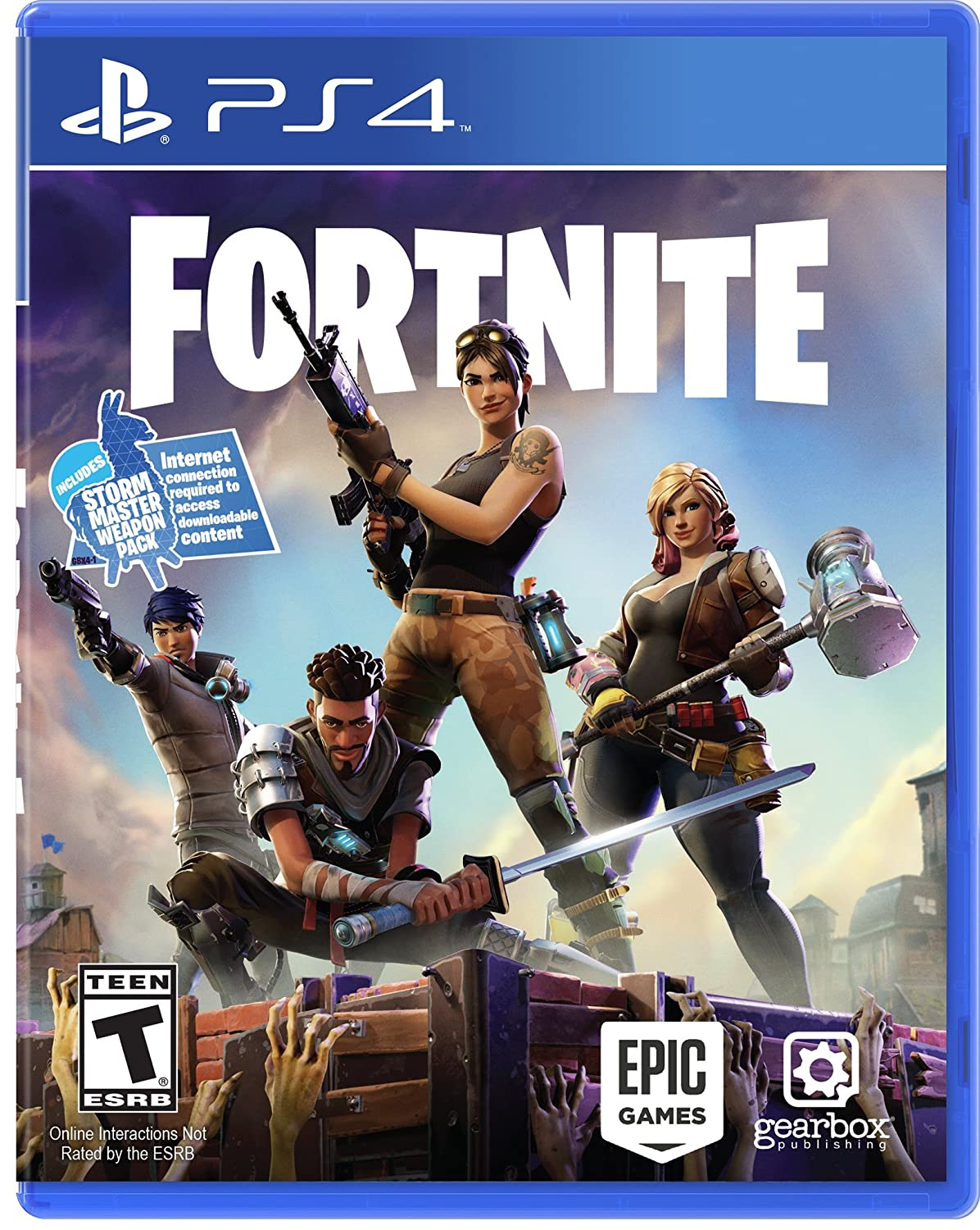Fortnite Indie Game Amazon Com Fortnite Playstation 4 Video Games
