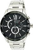 Jet Set - J10871-232 - Vantage - Montre Homme - Quartz Chronographe - Cadran Noir - Bracelet Acier Argent