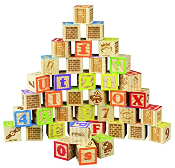 Buy Playskool Abc Wooden Blocks Online At Low Prices In India