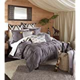 Lovely Blissliving Home 14173BEDDKNGPWT Tanzania Harper 110 Inch By 96 Inch  3 Piece King