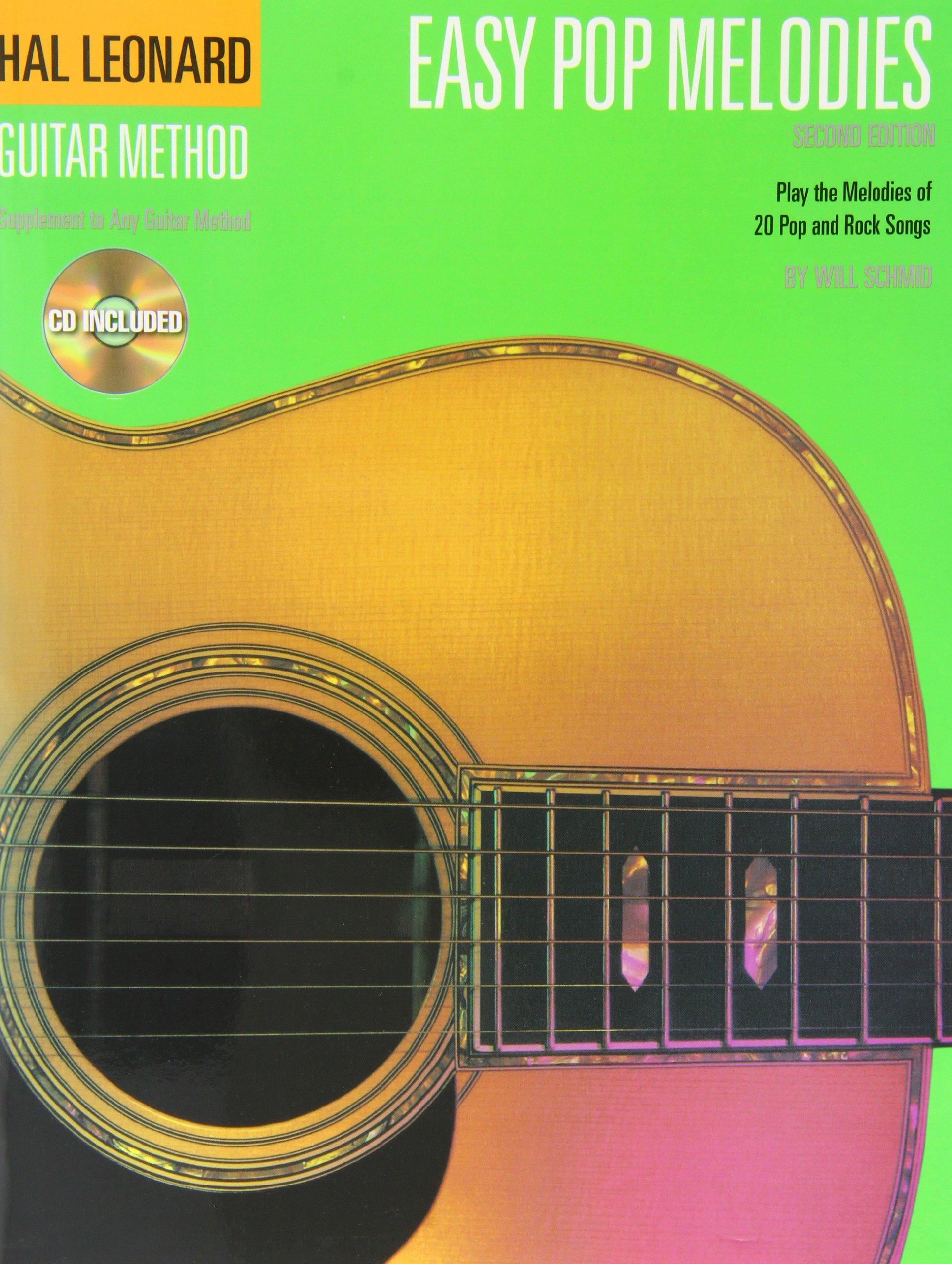 Hal Leonard Guitar Method: Easy Pop Melodies (CD Edition) PDF