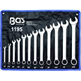 BGS – Combination Spanner Set, Inch Sizes, 1/4 15/16 Inches, Pack of 12, 1195