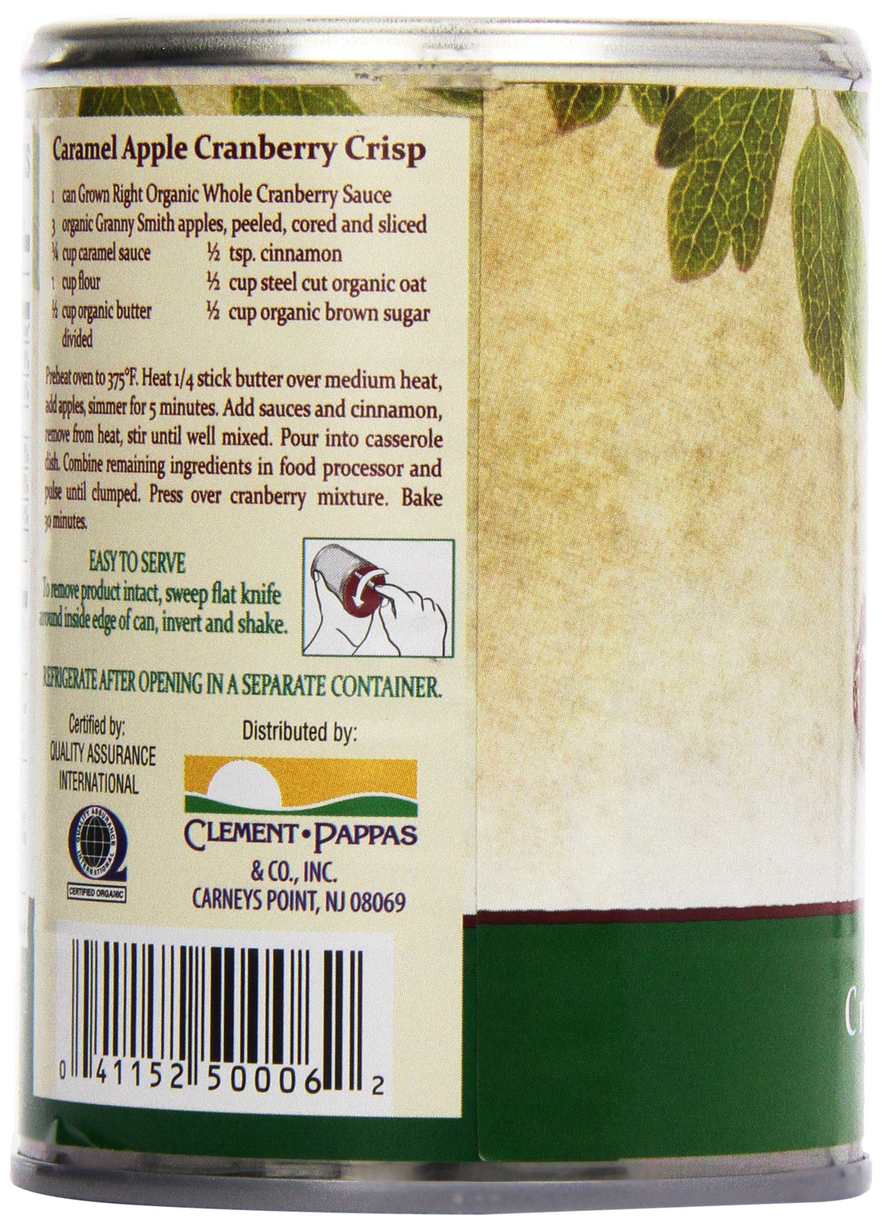 Grown Right Organic Whole Cranberry Sauce, 14 oz by Grown Right (Image #7)