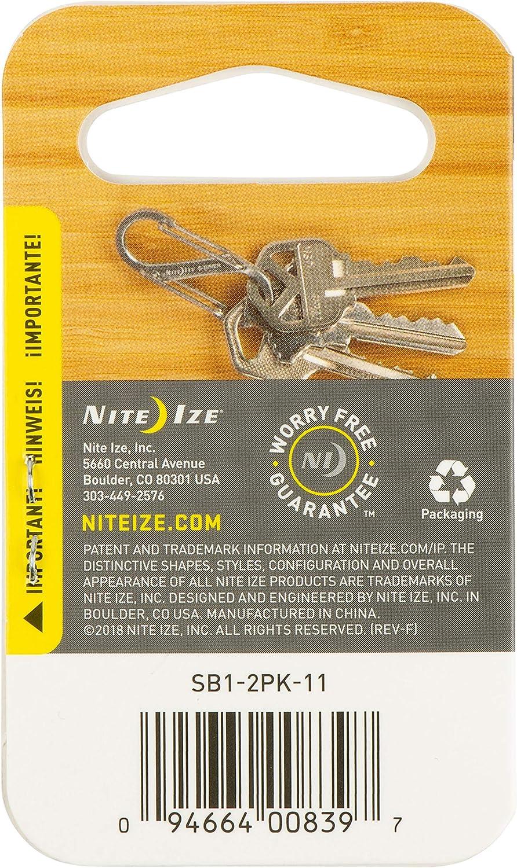 Nite Ize S-Biner Size 1 Durable Carabiner