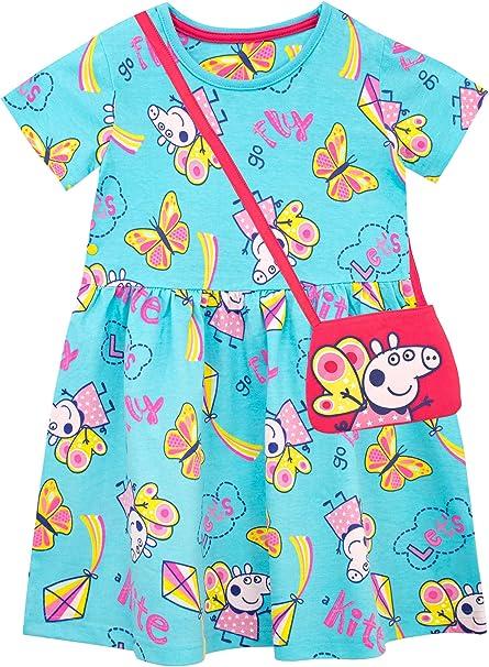 Peppa Wutz M/ädchen Kleid