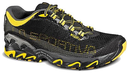 062043f39f5 La Sportiva Wildcat 3.0 Trail Running Shoe - Men s Black Yellow 45
